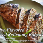 Olive-Flavored Baked Rellenong Bangus