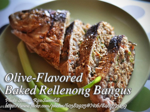 Olive Flavored Stuffed Bangus