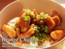 Orange Chicken Filipino Style