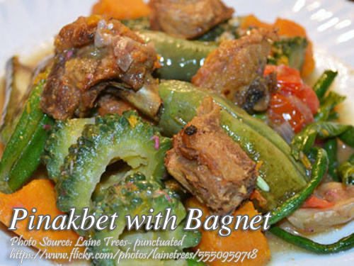 Ginisang Pinakbet With Bagnet Panlasang Pinoy Meaty Recipes