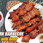 Pork Barbecue with Beer