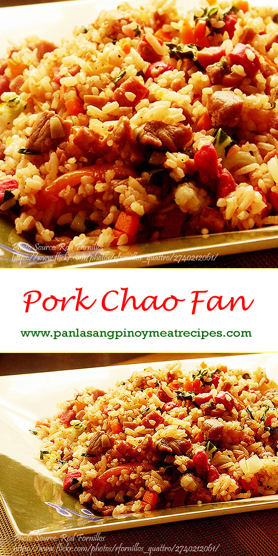 Pork Chao Fan Pinterest