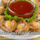 Chicken and Pork Embutido