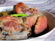 Lauya (Ilokano Pork Knuckles Stew)