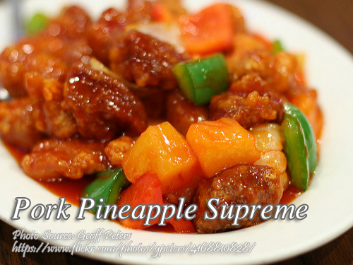Pork Pineapple Supreme