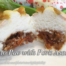 Puto Pao with Pork Asado Filling
