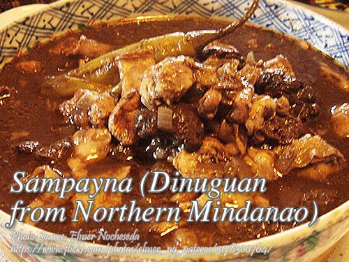 Sampayna Dinuguan from Northern Mindanao