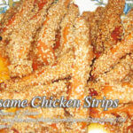Sesame Chicken Strips