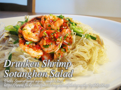 Shrimp Sotanghon Salad
