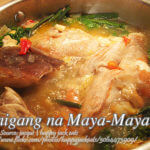 Sinigang na Maya-Maya (Red Snapper In Sour Broth)
