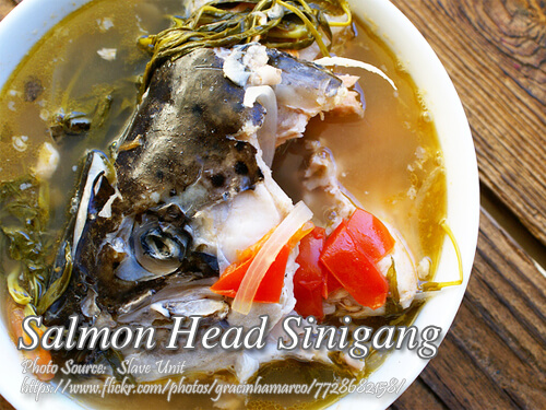 Salmon Head Sinigang
