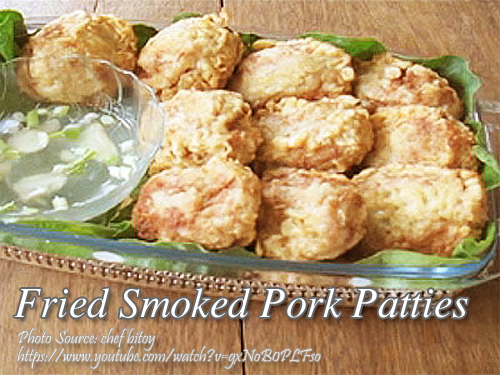 Smoked Pork Patties