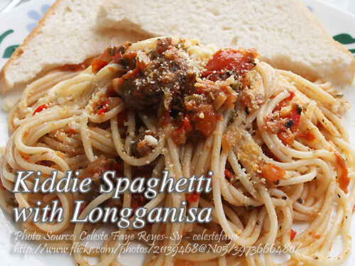Spaghetti with Longganisa