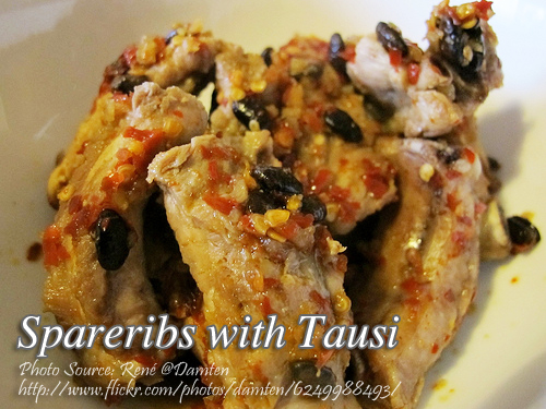 Spareribs with Tausi
