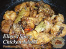Ellen's Spicy Chicken Adobo