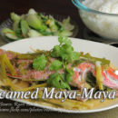 Steamed Maya-Maya (Red Snapper)