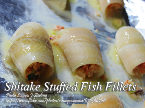 Shitake Stuffed Fish Fillet