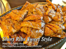 Short Ribs Sweet Style