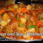 Sweet and Sour Fishballs