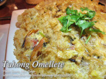 Tahong Omellete (Mussels Omellete)