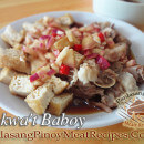 Tokwa't Baboy (Boiled Pork with Fried Tofu)