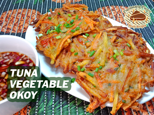Tuna Vegetable Okoy Pin it!