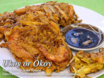 Ukoy (Bean Sprouts and Shrimp Fritters)